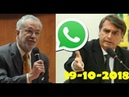 Alexandre Garcia derruba tese de jornal contra Bolsonaro e caixa 2 via Whatsapp