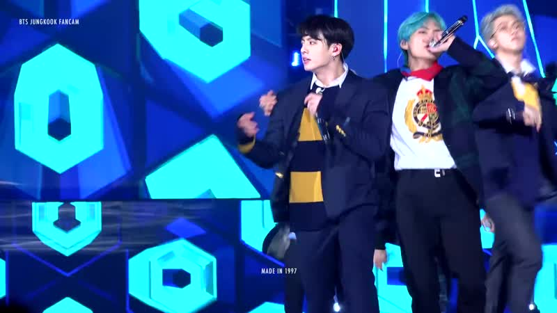 190115 BTS IDOL JUNGKOOK FOCUS @ 28th Seoul Music Awards