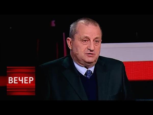 Кедми: Визит Порошенко в Израиль - ПОЗОР для моей страны! Вечер с Соловьевым от 21.01.19