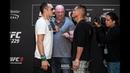 UFC 229 Media Day Staredowns - MMA Fighting