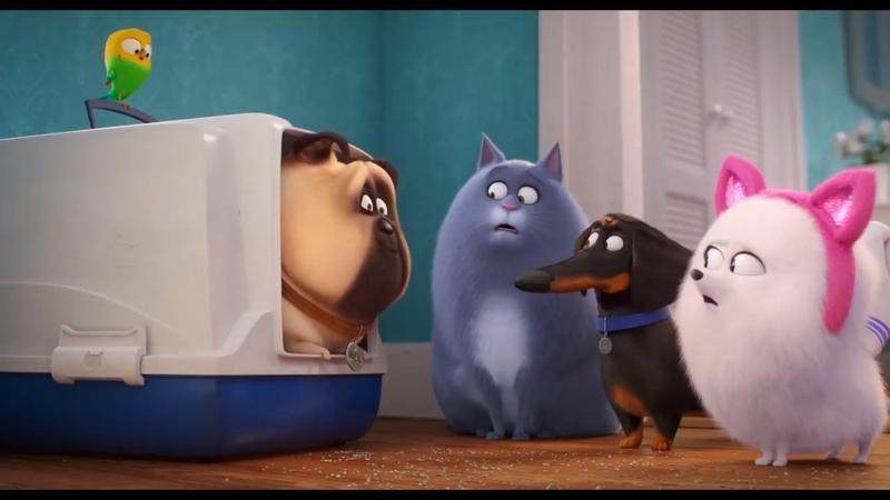 Тайная жизнь домашних животных 2 The Secret Life of Pets 2 (2019) Дублированный трейлер