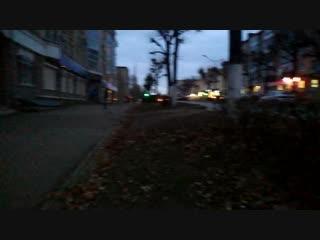 Неадекват на улице Ленина в Рузаевке