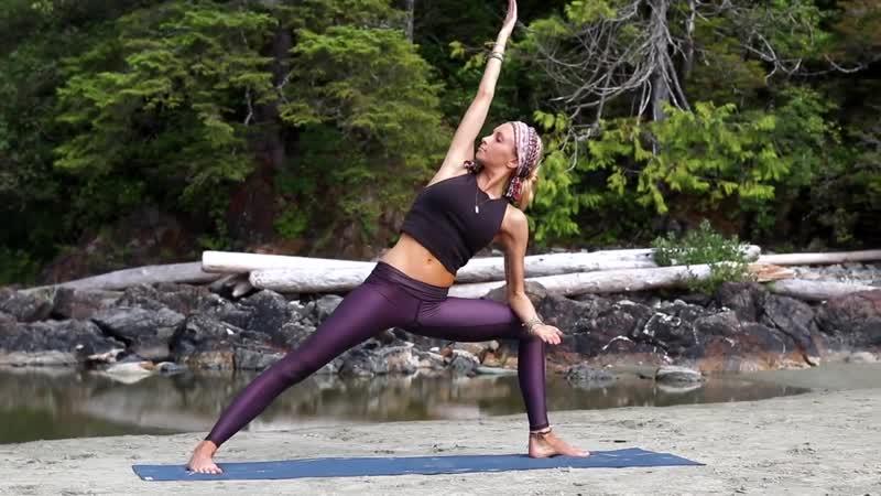 Beautiful Beginner Yoga ♥ Hatha Class For Everyone _ Tofino