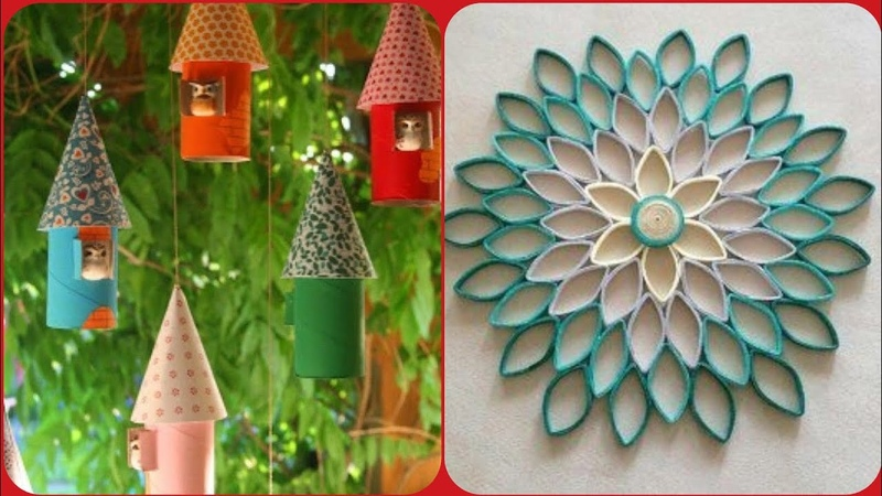 Beautiful and easy tissue roll crafts ideas