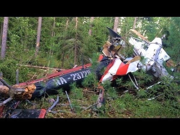 Следователи выясняют причины крушения вертолёта МИ-8 под Лангепасом