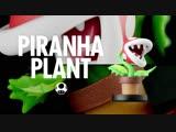 #amiibo Растение-пиранья из коллекции Super #SmashBros