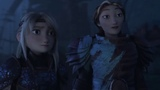 How to Train Your Dragon 3 (2019) - Valka and Astrid Scene 24