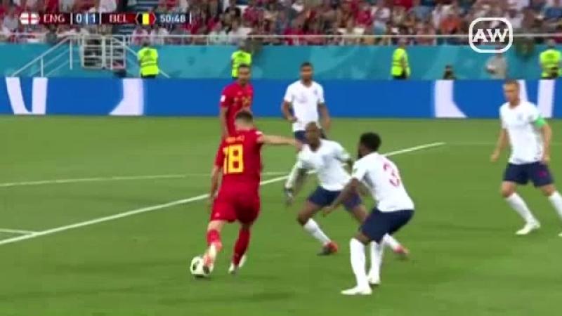 Inglaterra 0-1 Bélgica (Grupo G - Fecha 3 - Mundial Rusia 2018)