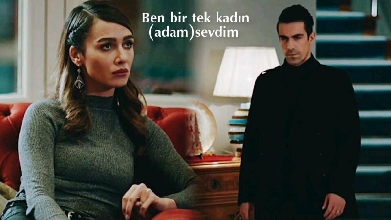 Selami Şahin ft. Burcu Güneş - Ben Bir Tek Kadın (Adam) Sevdim (Siyah Beyaz Aşk II Aslı Ferhat)