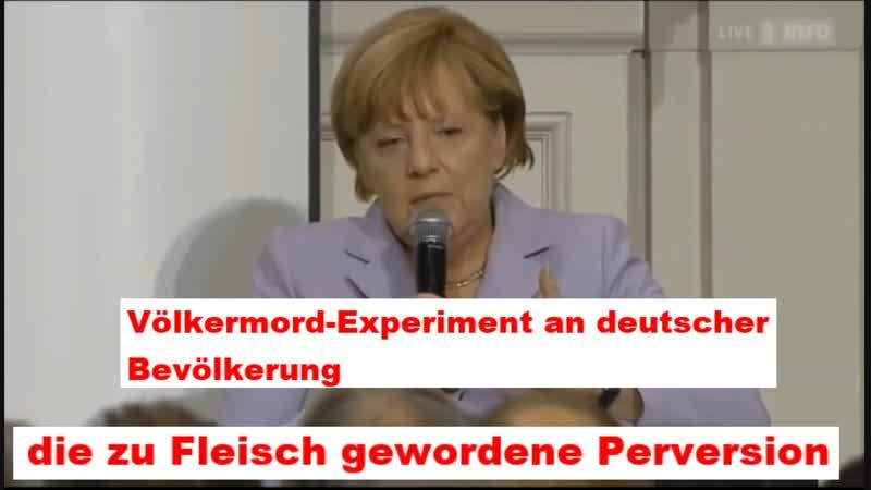 Völkermord-Experiment an der deutschen Bevölkerung