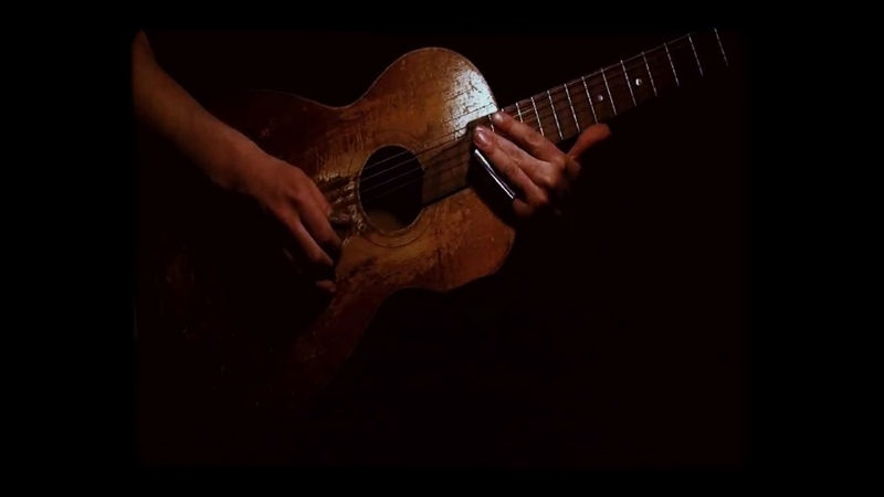 Krbi's Guitar - The Story of Charlie Patton (bottleneck g tunning)