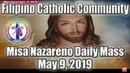 Misa Nazareno TV Mass May 9 2019