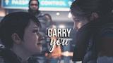 Detroit Become Human Carry you Kara AX400 &amp Alice