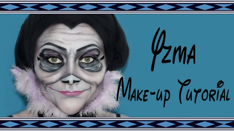 Yzma (Königreich für ein Lama)- Make-up Tutorial