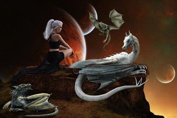 Дракон: — Всё было нормально, я украл принцессу, обошлось почти без жертв. Принцесса: — Ты на мою кошку наступил. — Говорю же, почти. Но потом мы встретили принцессину подругу ведьму и та