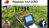 TRASH - PARK - AF23C - NOKTA MAKRO ANFIBIO - THE DUTCH METAL HUNTERS METAALDETECTOR - METAALDETECTIE