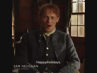 Wishing you the absolute happiest of holidays, from the Outlander family!
