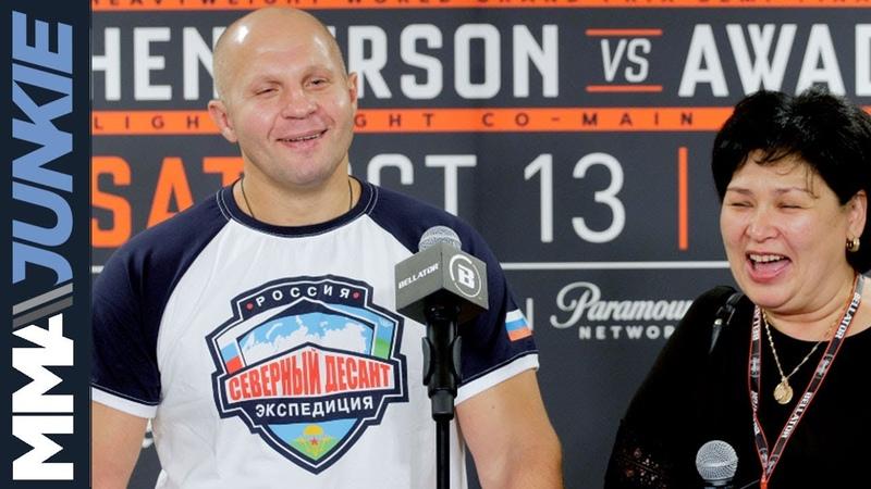 Bellator 208 Fedor Emelianenko post fight interview