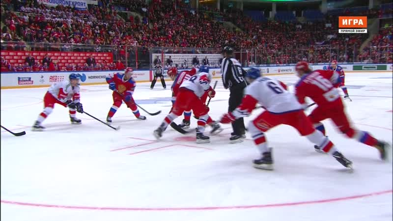 Euro Hockey Tour 2018-19. Channel One Cup. Russia - Czech Republic 15.12 15.45