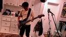 Jason Newsted jams on his CP Thornton Bass