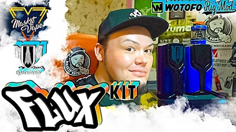 Flux kit by Wotofo Rig mod | Flow Pro SubTank