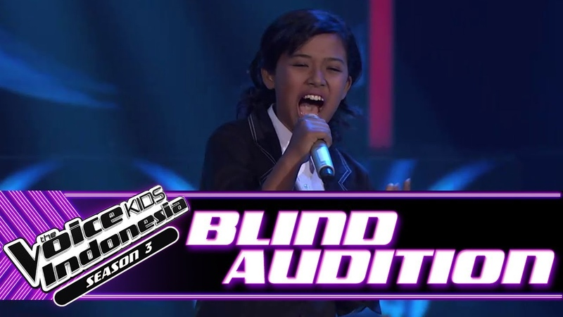 Kesia Anak Jalanan Blind Auditions The Voice Kids Indonesia Season 3 GTV 2018
