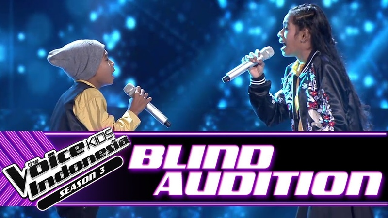 Jeni Joni Kase - Ingin Ku Miliki | Blind Auditions | The Voice Kids Indonesia Season 3 GTV 2018