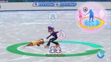 Mario and Sonic At The Sochi 2014 Olympic Winter Games Figure Skating Pairs(Team Waluigi &amp Daisy)