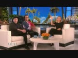 Patrick Stump and Pete Wentz talk about their kids on The Ellen Show Cheeky
