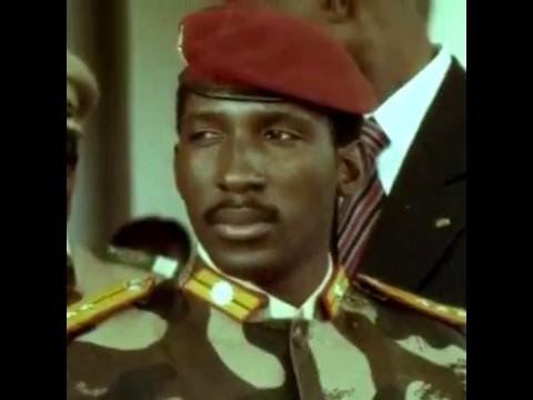 Тома Санкара, 1 президент Буркіна-Фасо (»Країна гідних людей) в 1983-1987 роках.