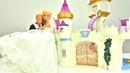 Барби выходит замуж Куклы Barbie и Кен на свадьбе