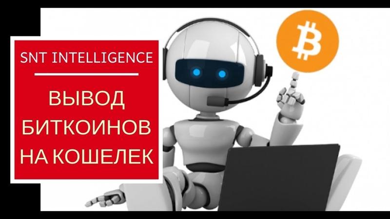 Вывод Биткоинов на кошелек с Бота || st intelligence