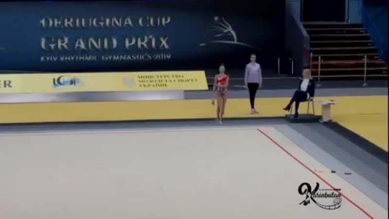 Deriugina Cup 2019, Полина Орлова - булавы