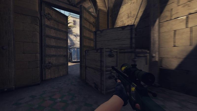 1v5 Clutch AWP AK 47