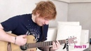 Ed Sheeran Kiss Me Acoustic Performance for Perez Hilton