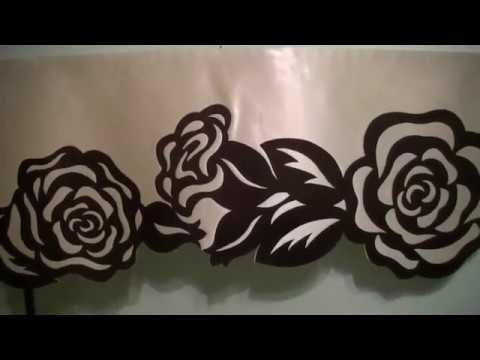 Ажурный ламбрекен Розы.