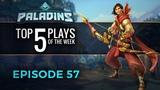 Paladins - Top 5 Plays #57