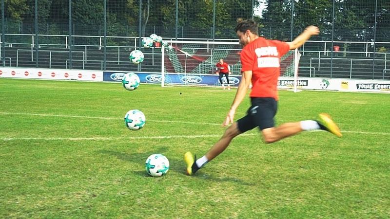 Freekickerz vs 1. FC Köln - Ultimate Free Kick Challenge