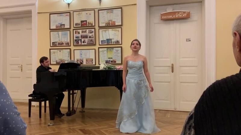 Ekaterina Mitina - Варламов «Ты не пой, душа-девица»