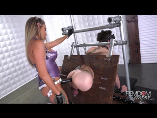 [femdomempire] jenna jones - glory hole fuck-meat [2018 г., femdom, strapon, pegging, bondage, anal, toys, 1080p]