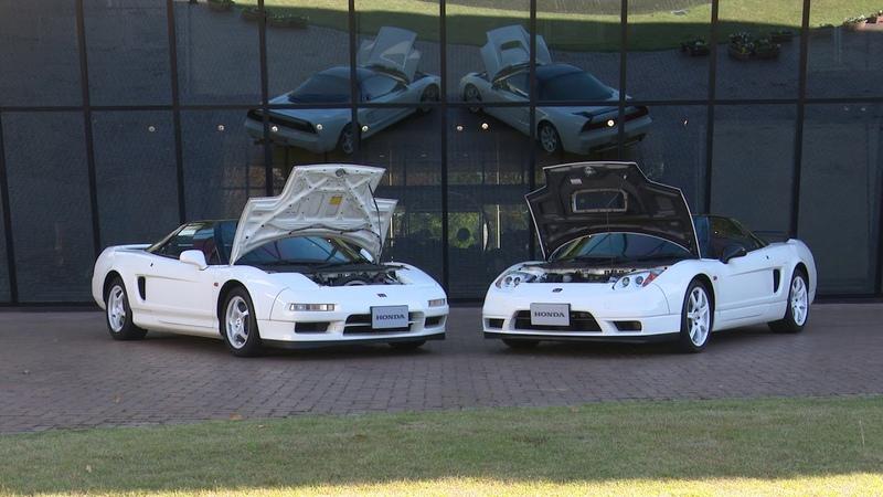 Honda Collection Hall 収蔵車両走行ビデオ 1992 2002 NSX-R