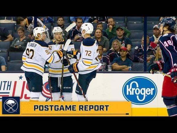 Buffalo Sabres vs Columbus Blue Jackets preseason game, Sep 17, 2018 HIGHLIGHTS HD