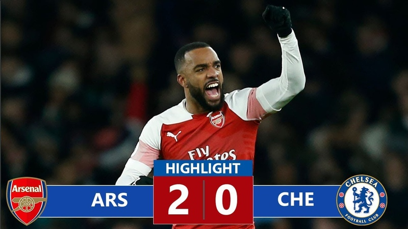 Arsenal vs Chelsea 2-0 Highlights All Goals (19/01/2019)