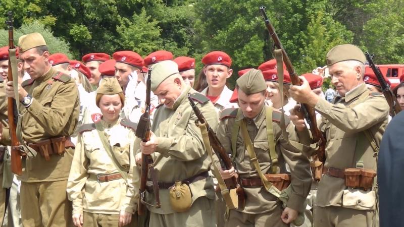 Военно - историческая реконструкция в Тамбове.