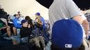 Girl beat guy up at Dodger stadium 10 7 2013