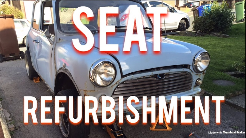 Classic Mini Restoration | Seat Refurbishment | Episode 1