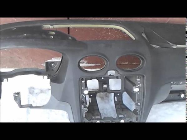 Ремонт торпедо Ford Focus 2. Ремонт Airbag.