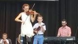 Leahy Family fiddlers-Irish Fest 2018