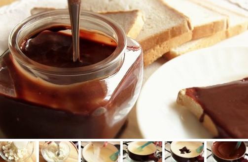 Домашний шоколадный плавленый сыр
