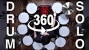 360 DEGREE DRUM SOLO RING OF FIRE 10 Igniter Snares